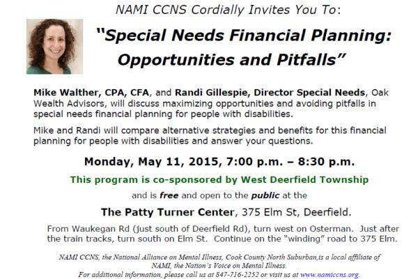2015 financial planning