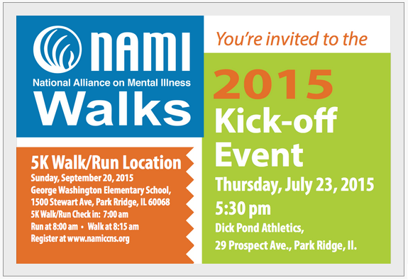 2015 NAMI CCNS Walks and Run July Kickoff Event