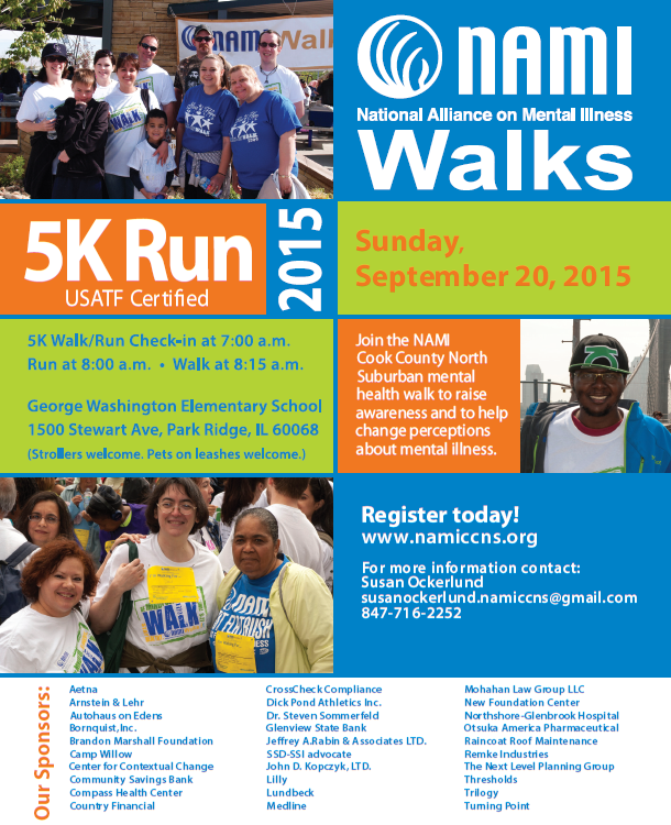 2015 NAMI CCNS Run and Walk