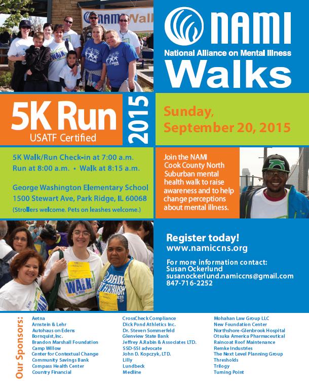 2015 NAMI CCNS Run and Walk