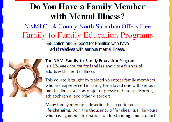 Family to Family NAMI CCNS class