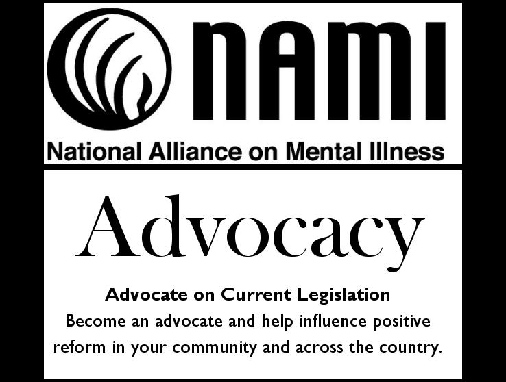 NAMI Advocacy - Advocate on Current Legislation