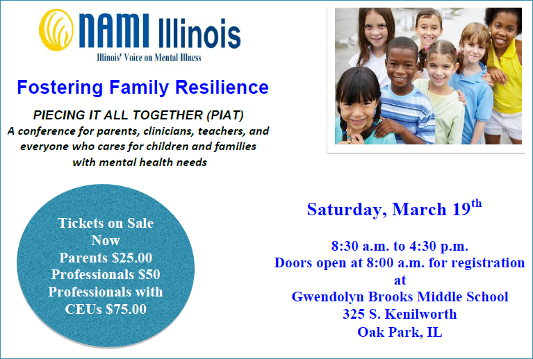 NAMI Fostering Family Resilience - PIECING IT ALL TOGETHER (PIAT)