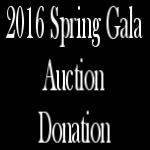 2016 NAMI CCNS Spring Gala - Auction Donation Form