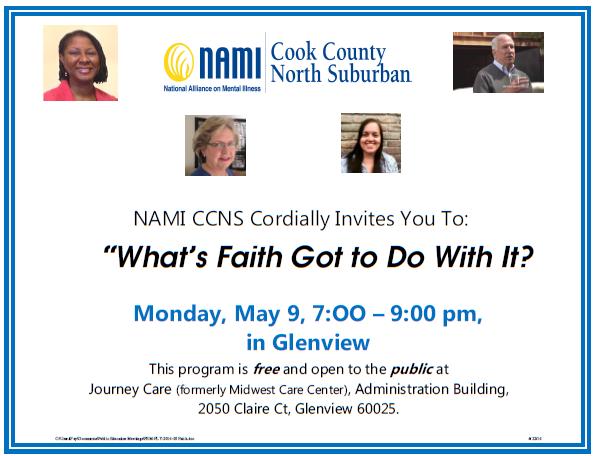 2016 NAMI CCNS May 9th Public Education Meeting