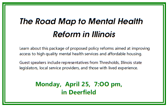 2016 NAMI CCNS Mental Health Reform Illinois April 25