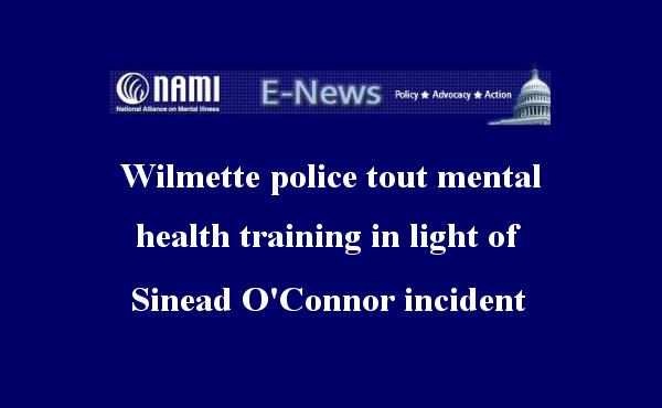 Chicago Tribune - Wilmette police tout mental health training in light of Sinead O'Connor incident