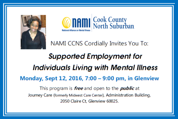 2016 PEM supported employment sep12 top Sept 12, 2016 Public Education Meeting - Supportive Employment