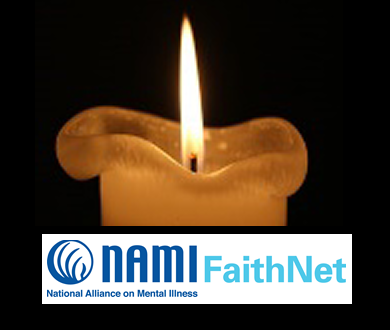 2016 namiccns prayer campaign candle1 w faithnet logo FaithNet National Day of Prayer Campaign - 2016 Week 7 - National Depression Screening