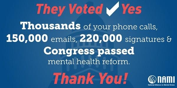 2016 Mental Health Reform Bill