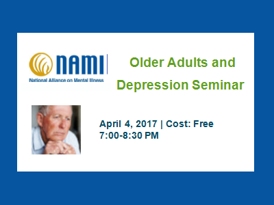 2017 NAMI Older Adults and Depression Seminar