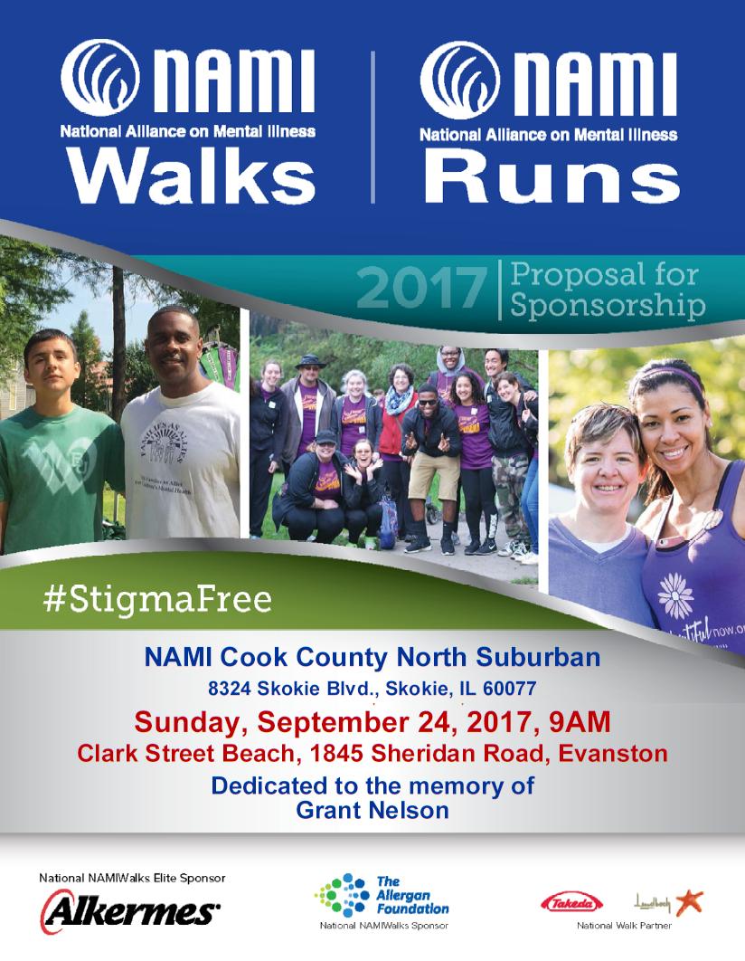 2017 NAMI CCNS WALK RUN