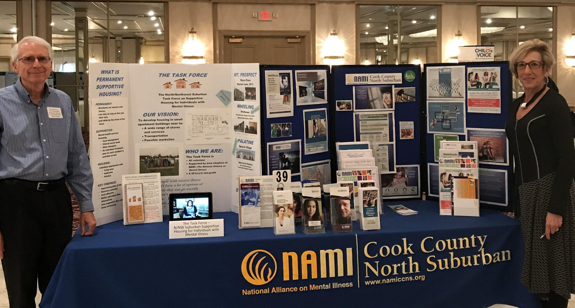 Judy Graff at Housing Expo 10.18.17 NAMI CCNS Represented at Supportive Housing Expo