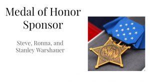 NAMI PRESENTATION GALA SLIDES medal of honor 2018 NAMI Gala | Finding Peace After War