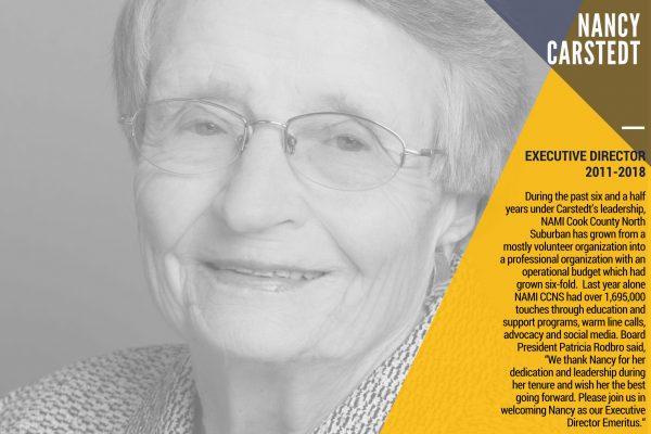 Nancy Carstedt | Executive Director NAMI retires