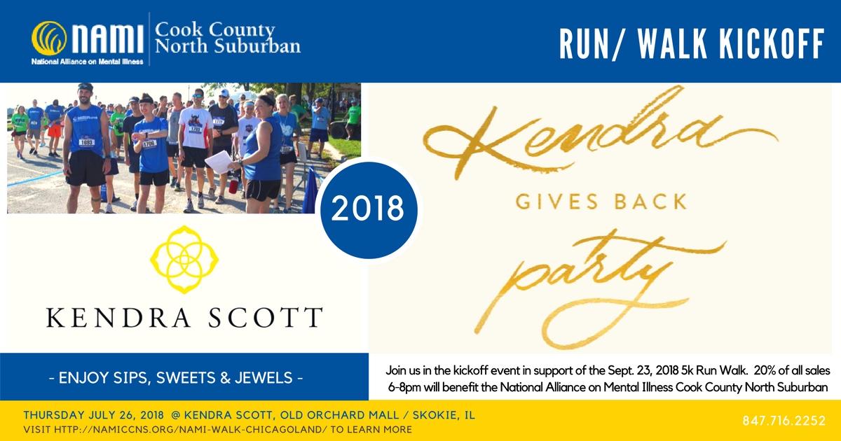 Kendra Scott NAMI CCNS 5K Run/Walk Kickoff Event
