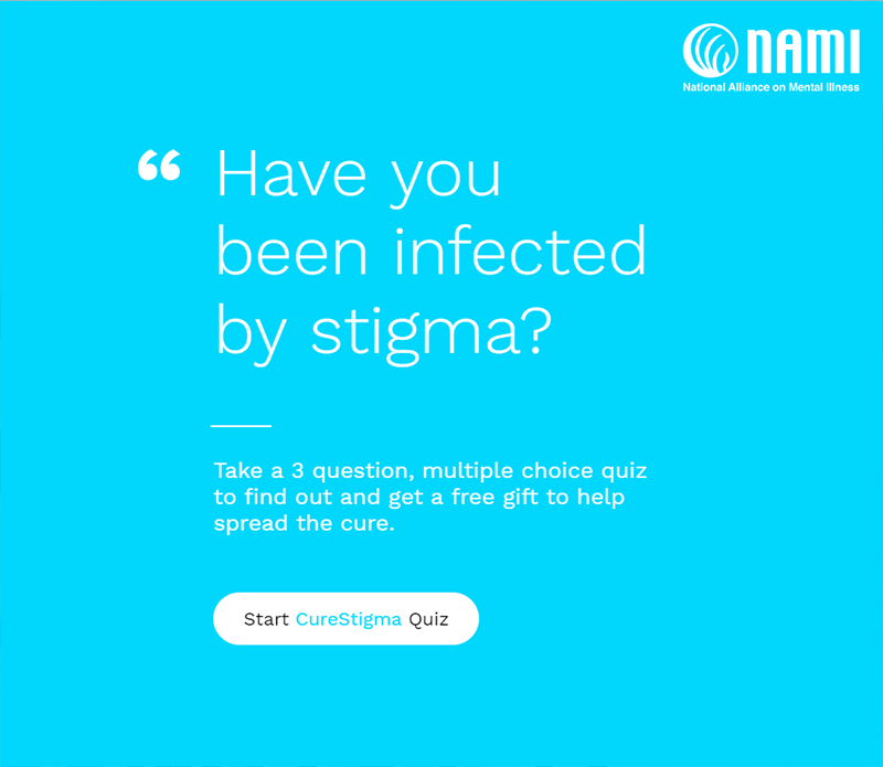 Mental Health Month | #CureStigma – NAMI CCNS – Chicagoland
