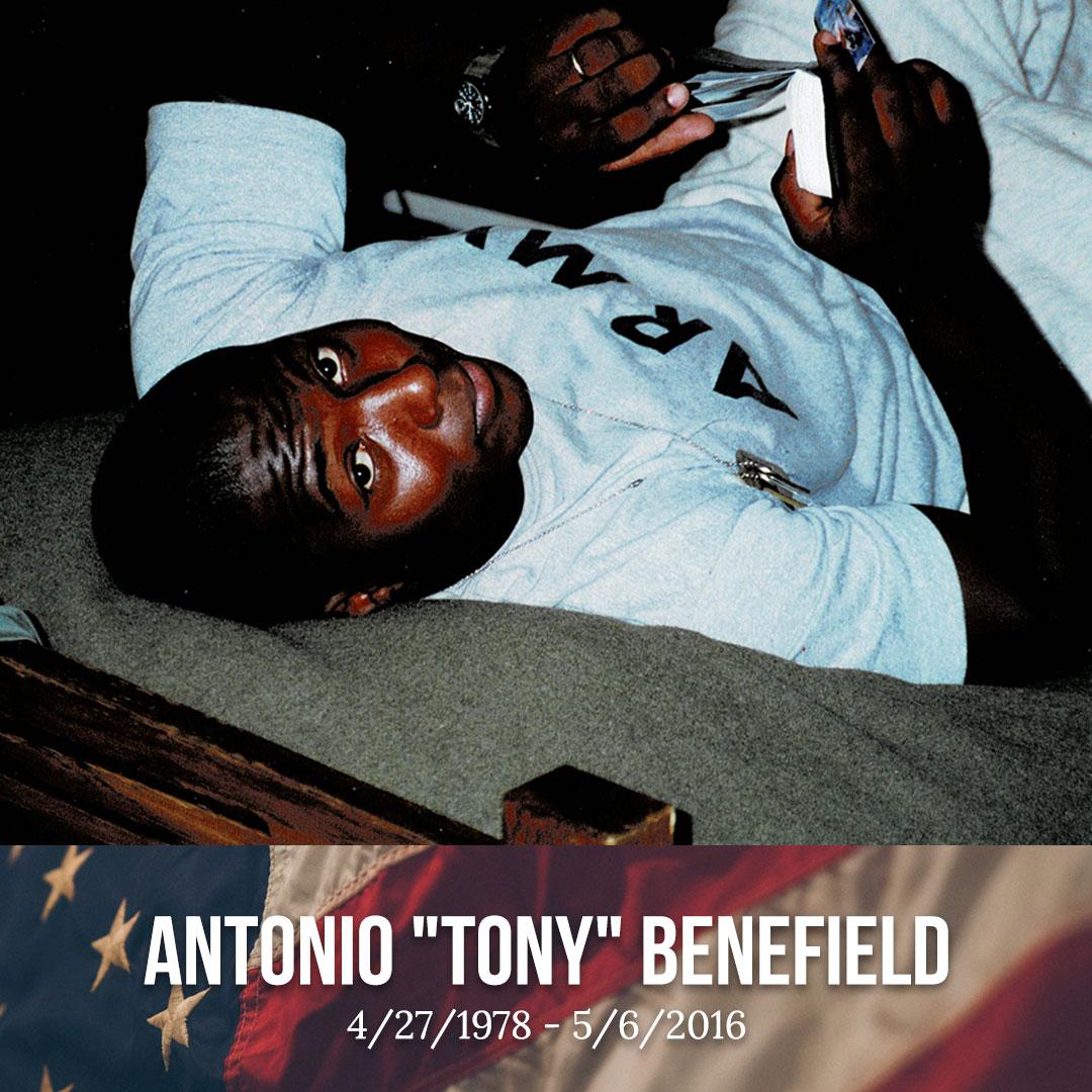 Antonio Dewan Benefield