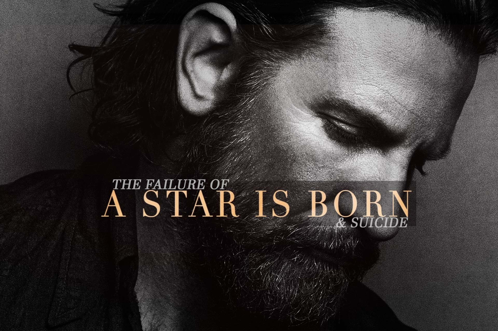 Bradley Cooper in A Star is Born with Lady Gaga