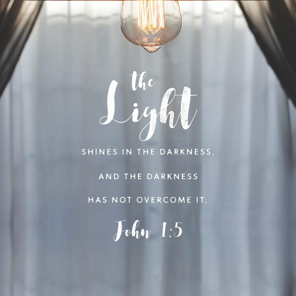 John 1:5 - Light Overcomes All