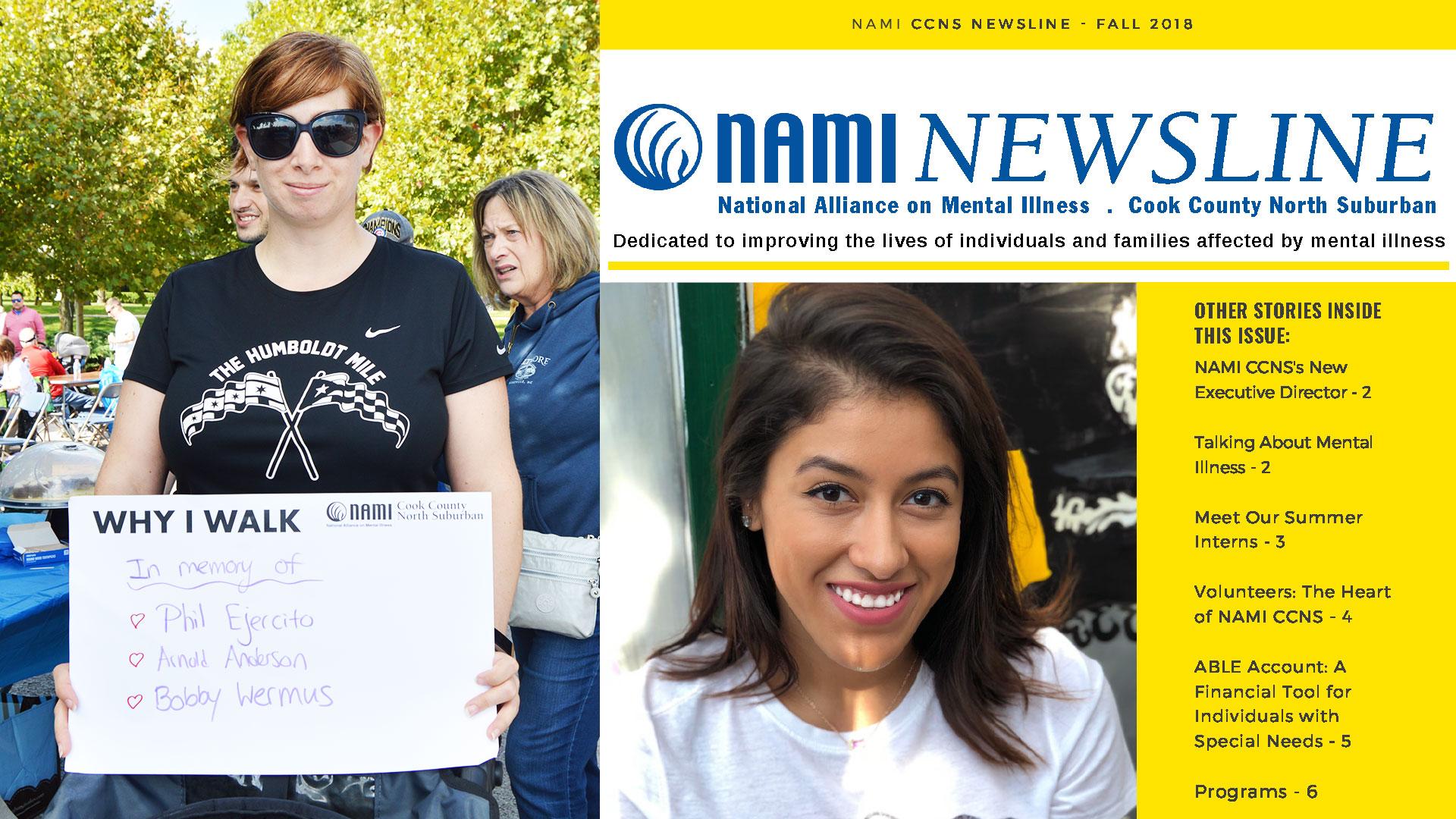 2018 NAMI NEWSLINE FALL