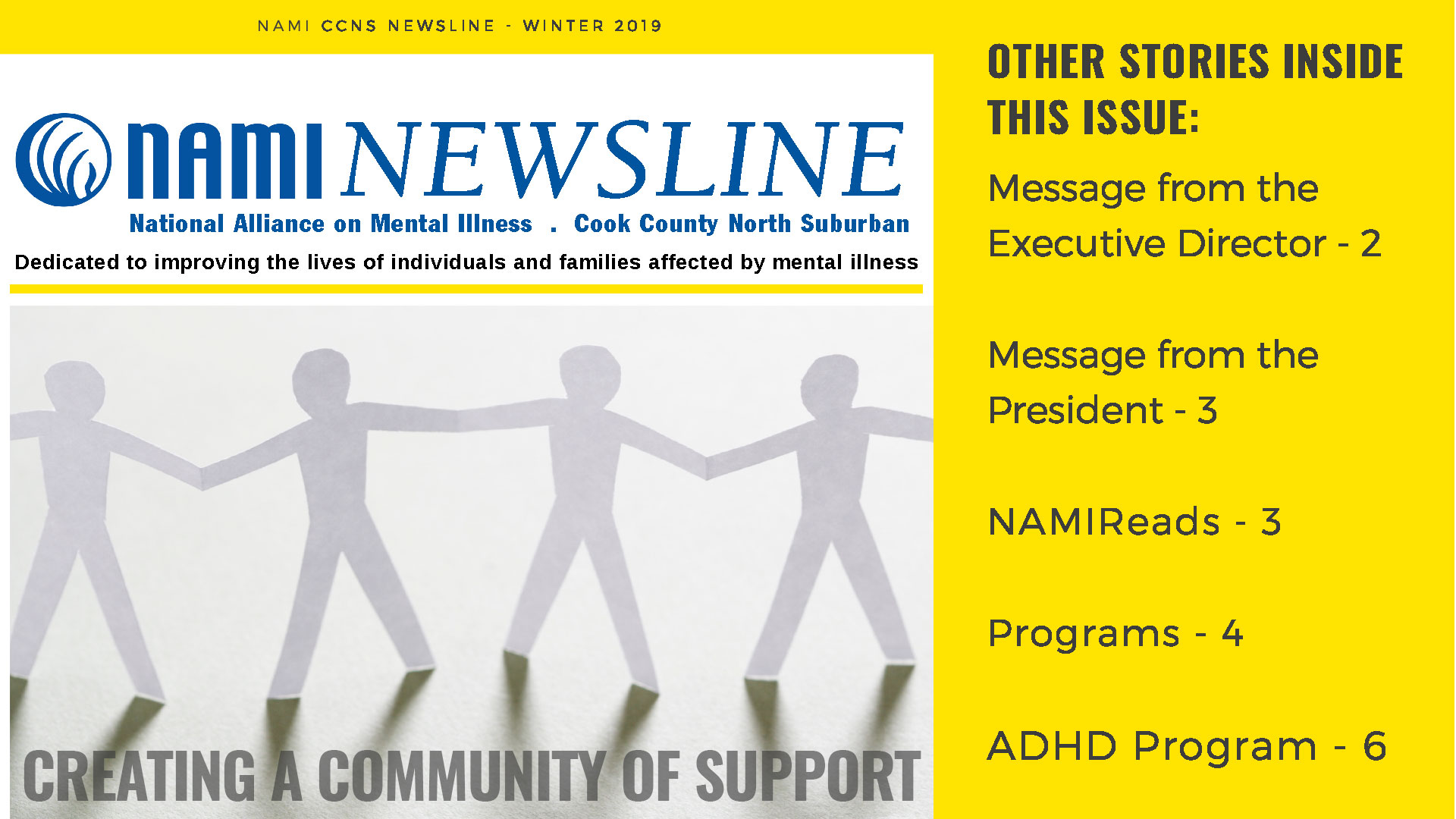 Winter 2019 | NAMI Newsline