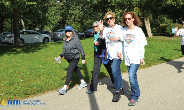 2019 NAMI Chicago 5K Run Walk Participants