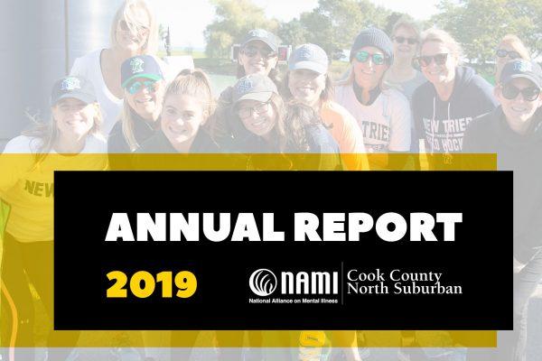 2019 NAMI ANNUAL REPORT