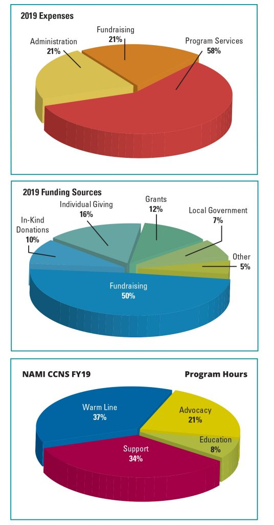 NAMI Chicago Annual Spending