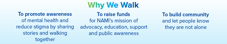 Why We Walk For NAMI