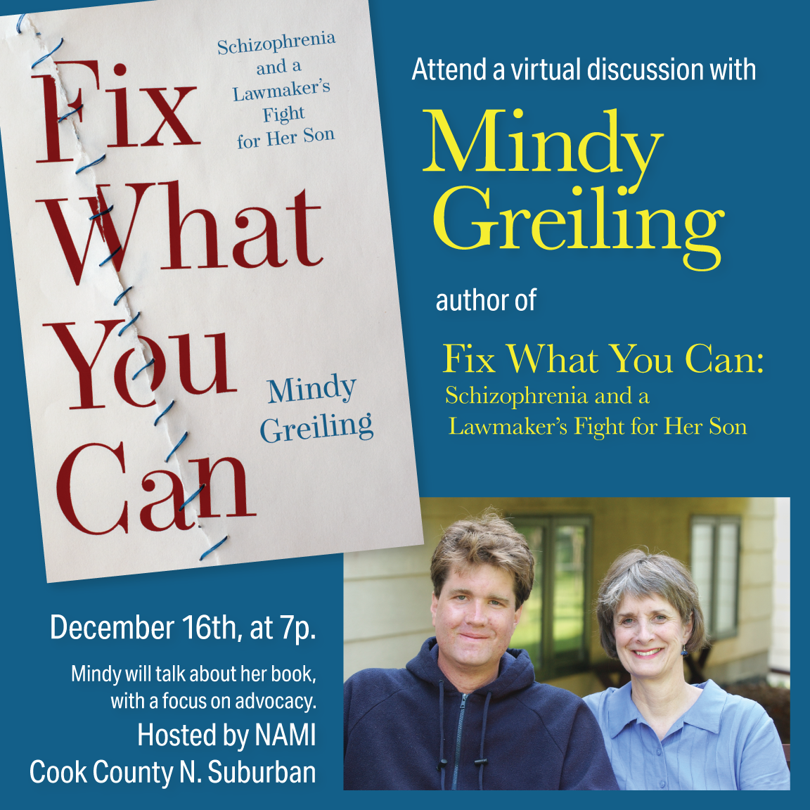 Mindy Greiling's memoir