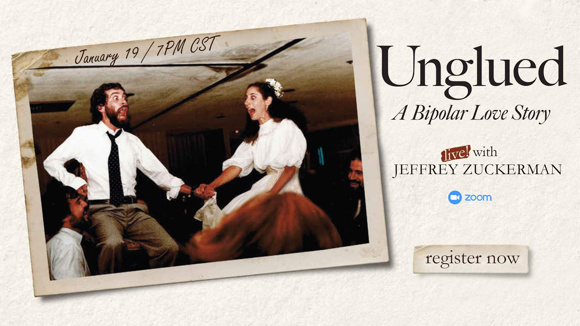 UNGLUED WITH JEFFREY ZUCKERMAN
