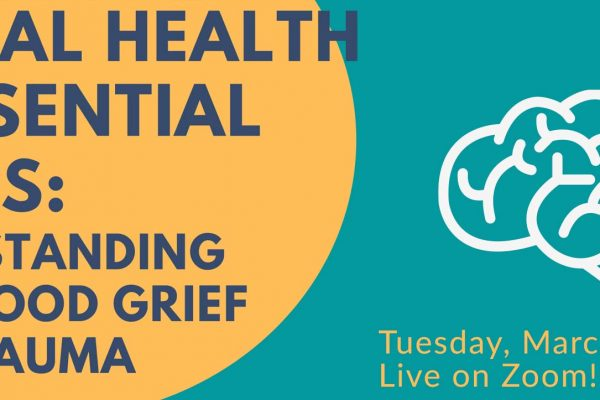 MENTAL HEALTH IS ESSENTIAL SERIES Events