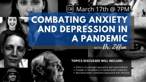 Covid 19 Pandemic Impact on Mental Health Dr Ziffra 1920x1080 1 Combating Anxiety and Depression in a Pandemic with Dr. Ziffra